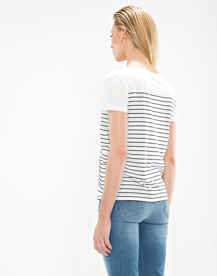 Tee-shirt rayé Nageuse (4) - 1-2-3