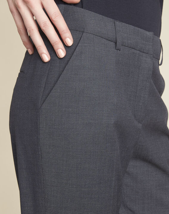 Volt anthracite tapered trousers (3) - 1-2-3