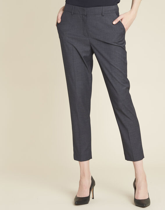 Pantalon anthracite cigarette Volt PhotoZ | 1-2-3