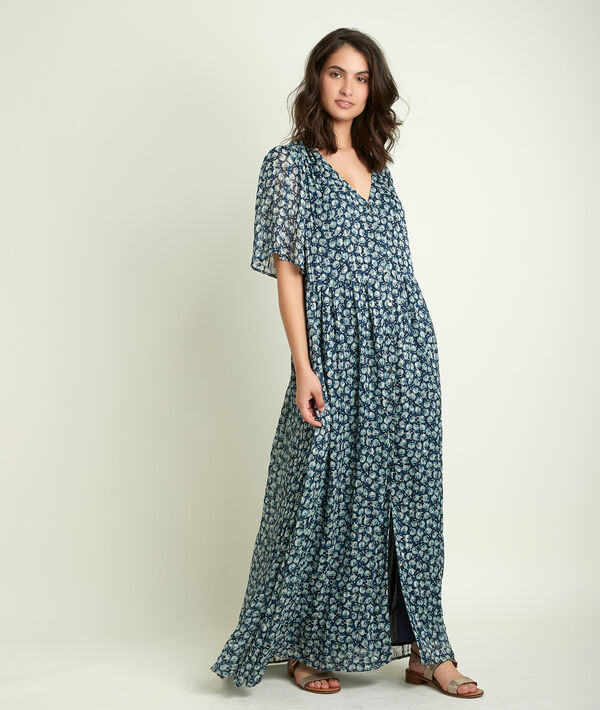 Robe longue imprimée Cheminie PhotoZ   1-2-3