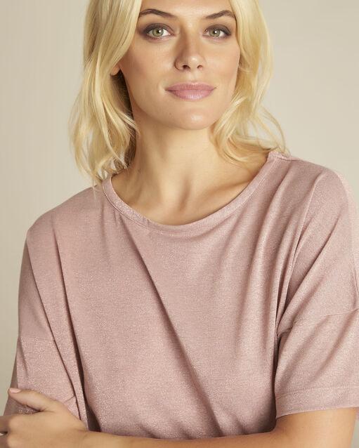 Tee-shirt rose lurex Galway (2) - 1-2-3