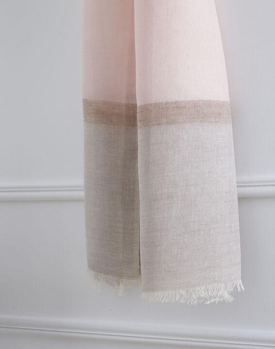 Foulard poudre coton et laine Opera (2) - 1-2-3