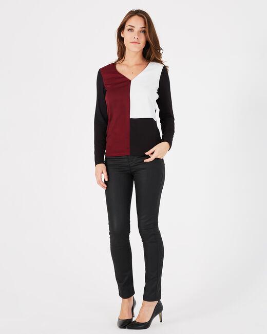 Tee-shirt noir et rose Bradley (1) - 1-2-3