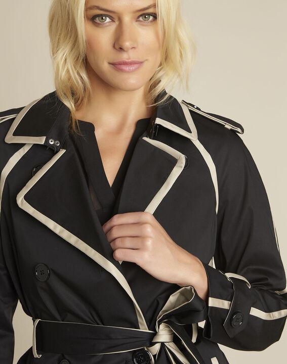 Eloise black braided trenchcoat (3) - 1-2-3
