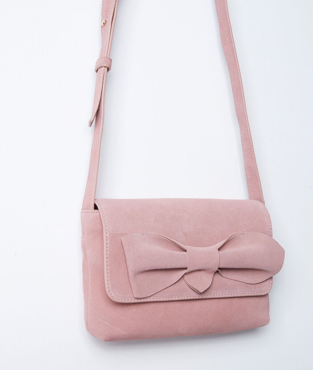 Sac en cuir rose Dolly PhotoZ | 1-2-3