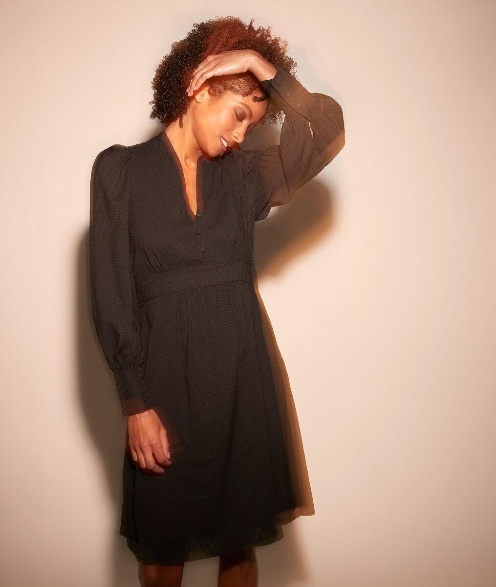 Robe dansante aux manches bouffantes Corinne PhotoZ   1-2-3