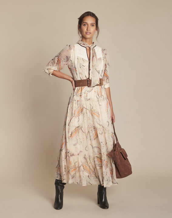 Robe longue imprimée Imane PhotoZ | 1-2-3