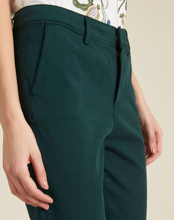 Jacob dark green chinos forest green.