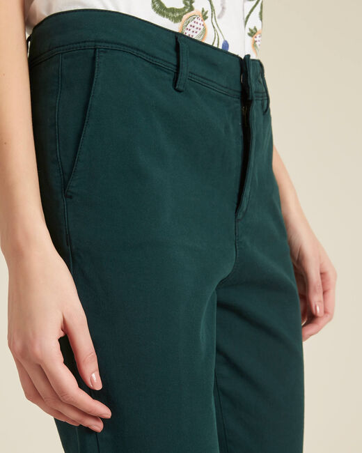 Jacob dark green chinos (2) - 1-2-3