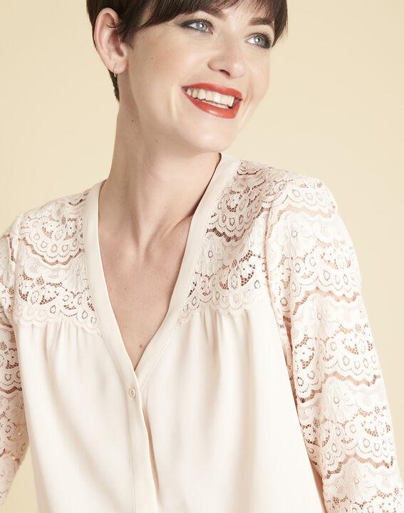Nude blouse van kant Colette (3) - 37653