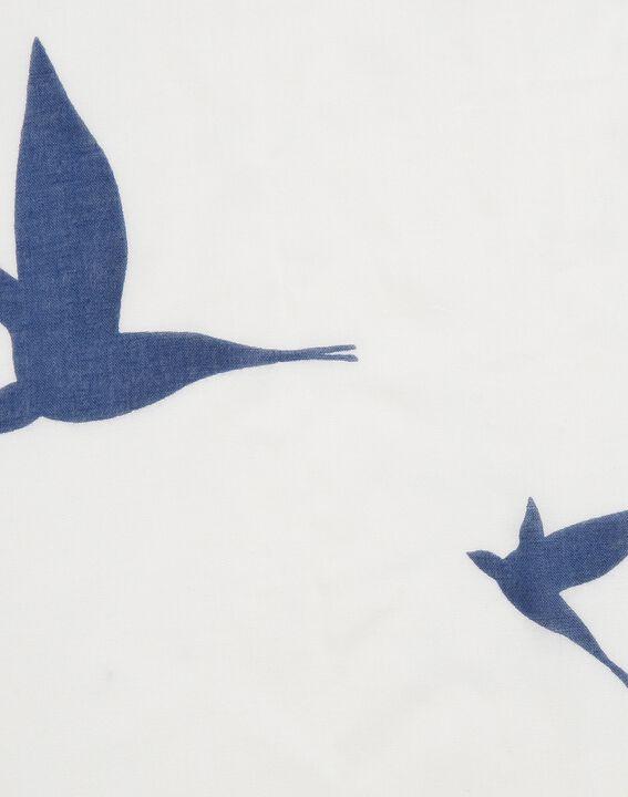 Halstuch mit Vogelprint Ellora (2) - 1-2-3