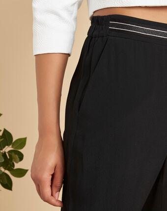 Pantalon noir fluide cheville scoty noir.