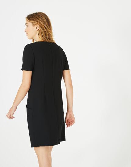 Amanda stylish black dress (4) - 1-2-3