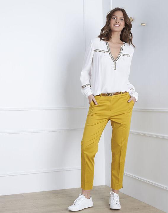 Gelbe Zigarettenhose Rubis (1) - Maison 123