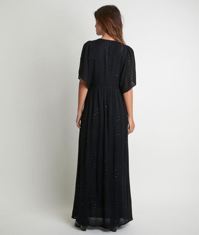 Lange jurk met lovertjes Noaki PhotoZ   1-2-3