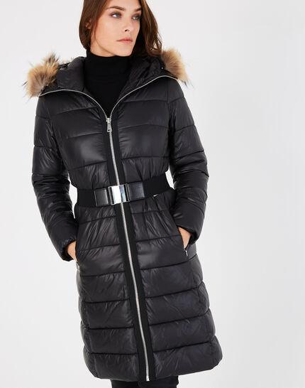 Louna long black puffer jacket (2) - 1-2-3