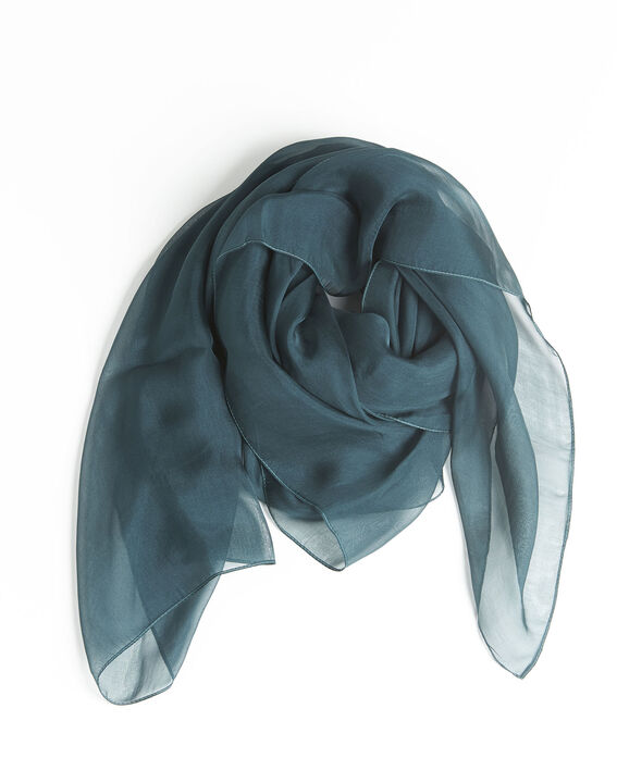 Alice green silk scarf PhotoZ | 1-2-3