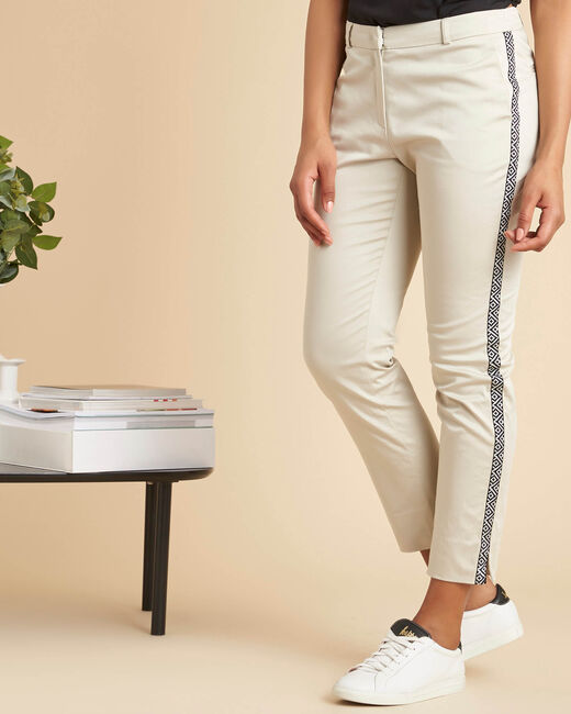 Suzy tapered trousers with bands (2) - 1-2-3