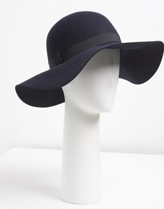 Marineblauwe hoed van wol Uriel PhotoZ | 1-2-3