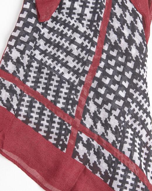 Foulard rouge et noir Fantastique (1) - 1-2-3