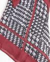 Rood en zwarte sjaal Fantastique (2) - 37653