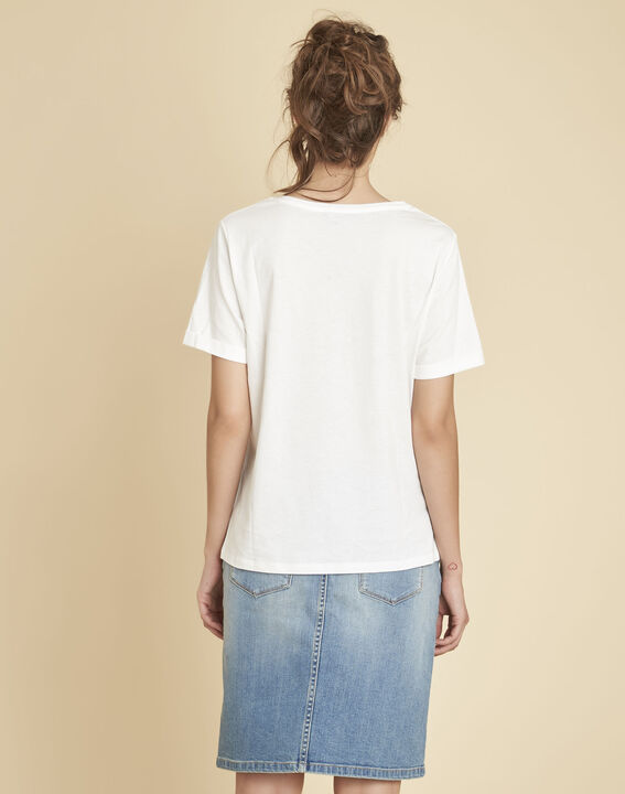 Tee-shirt blanc imprimé Elixir (4) - 1-2-3