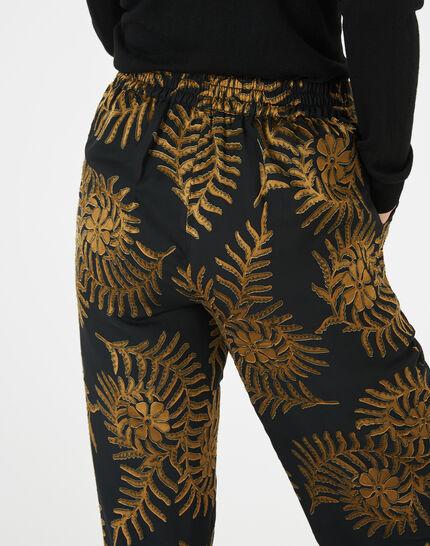 Pantalon imprimé floral Kara (4) - 1-2-3