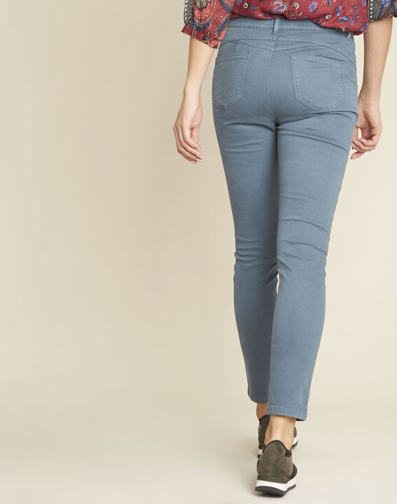 Jean bleu slim taille haute Honore (4) - 1-2-3