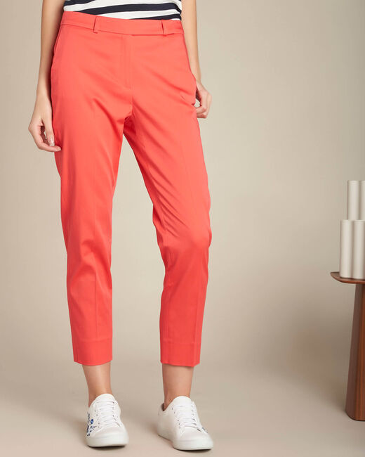 Rubis coral 7/8 length trousers (2) - 1-2-3