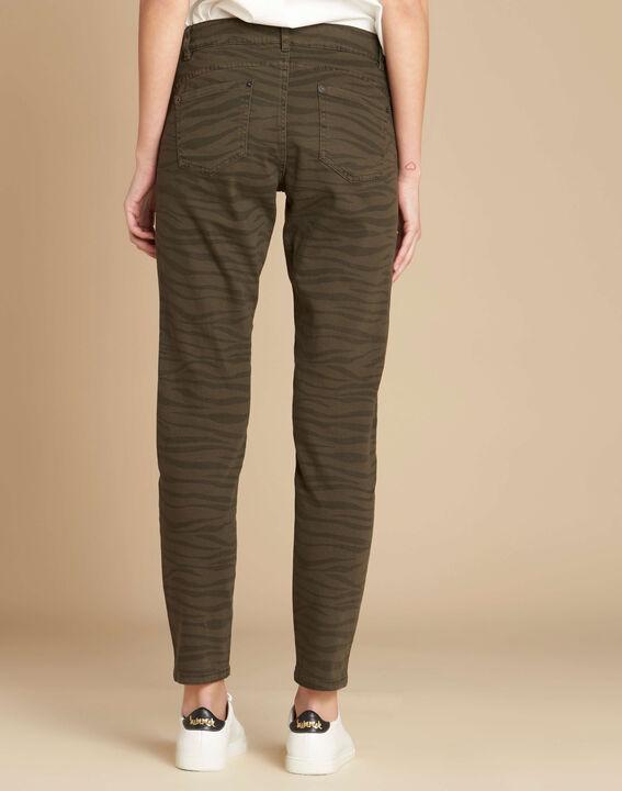 Slim Fit-Jeans mit Zebra-Print Passy (4) - 1-2-3