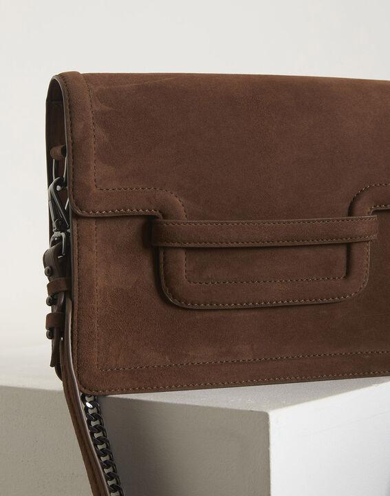 Le It bag 123 - sac bandoulière en cuir velours (2) - 1-2-3