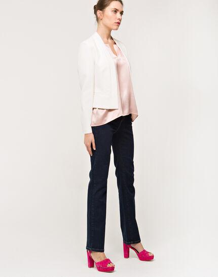 Louise ecru cropped jacket (4) - 1-2-3