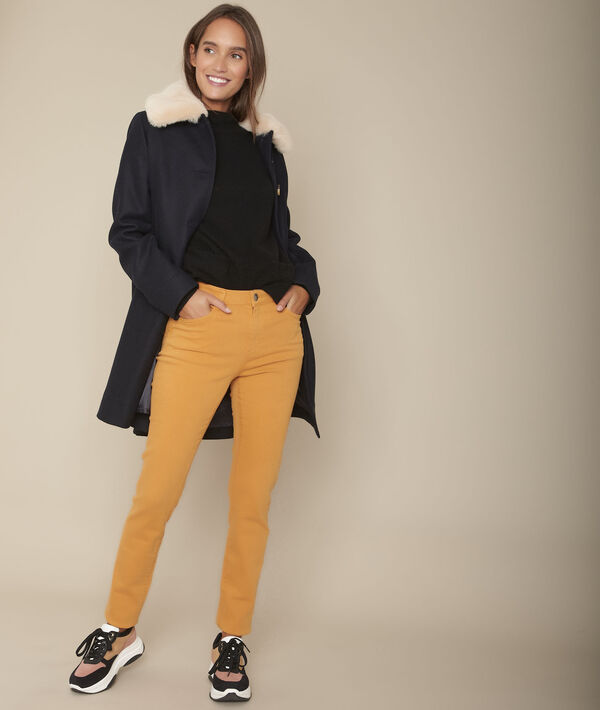 L'iconique : jean slim safran Suzy PhotoZ | 1-2-3
