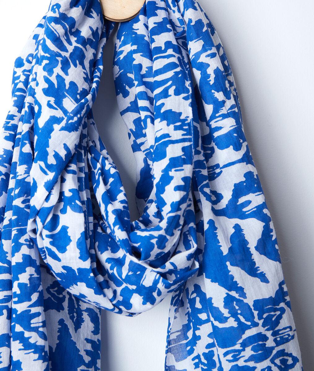 Foulard en coton recyclé Bradeley PhotoZ | 1-2-3