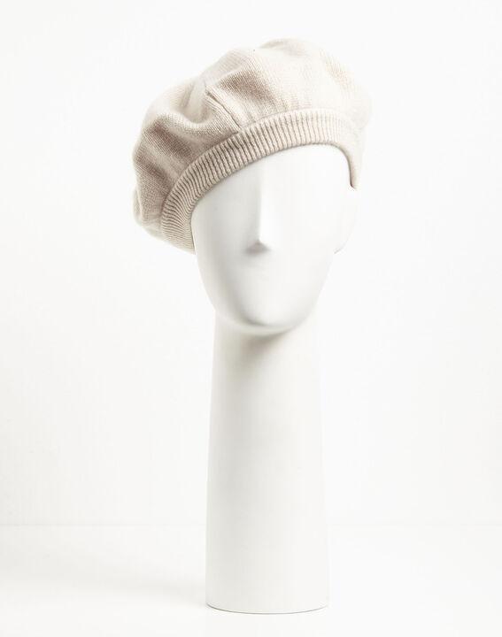 Lichtroze baret van kasjmier Ustave (1) - 37653