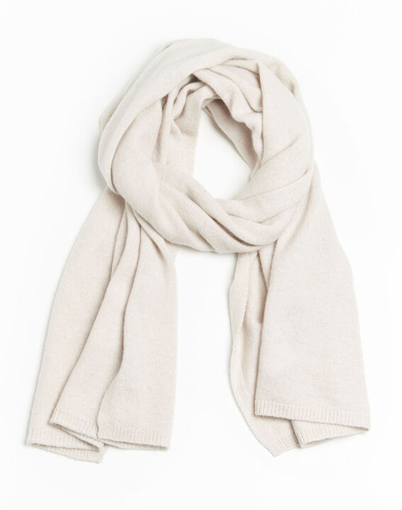 Felicia pale pink cashmere scarf PhotoZ | 1-2-3