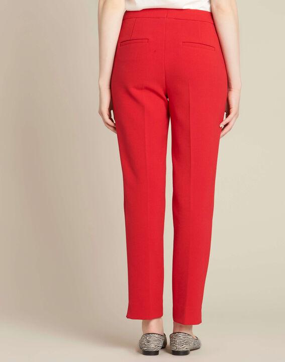 Rote Slim-Fit Business-Hose Lara (4) - 1-2-3