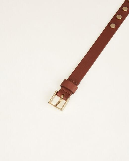 Orphée camel leather belt (1) - 1-2-3