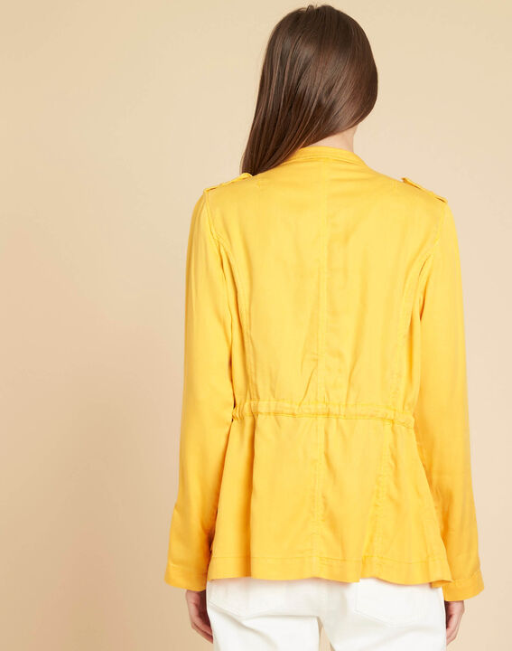 Casa bright yellow jacket with pockets (4) - 1-2-3