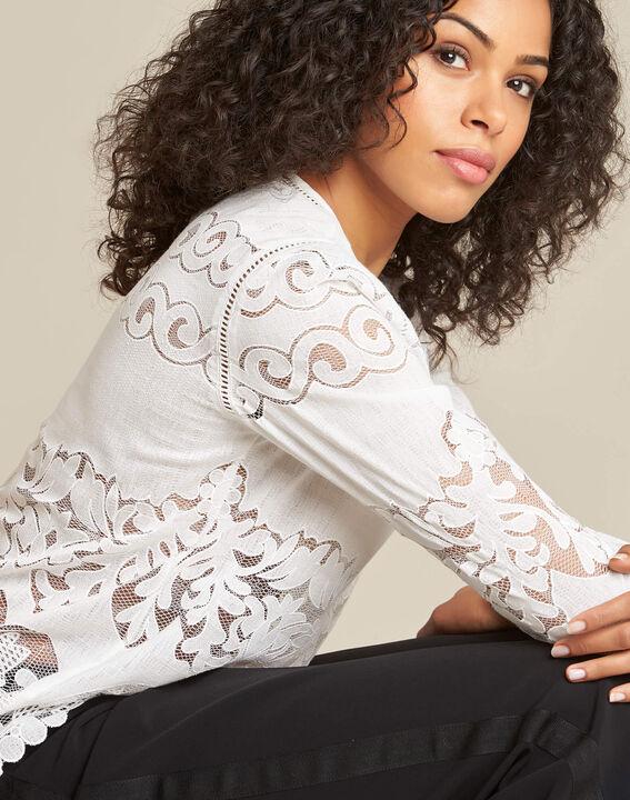 Gabin ecru lace blouse PhotoZ | 1-2-3