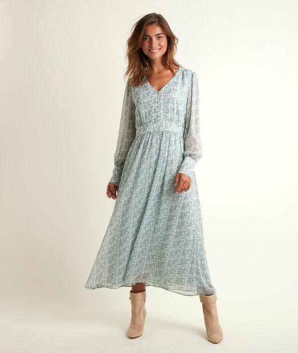 Robe longue imprimée Nety PhotoZ | 1-2-3