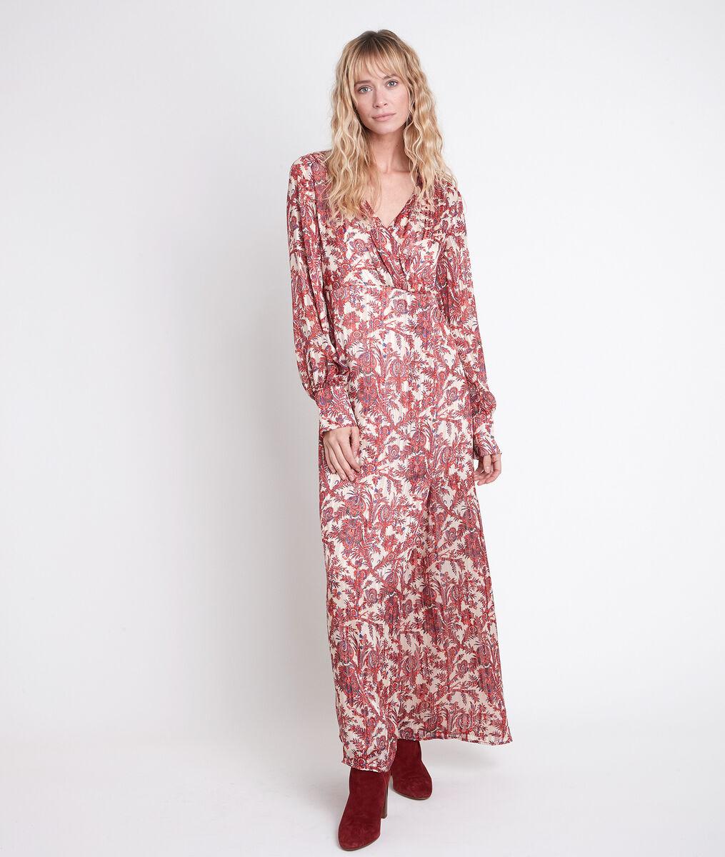 Robe longue imprimée bohème Cathel PhotoZ | 1-2-3