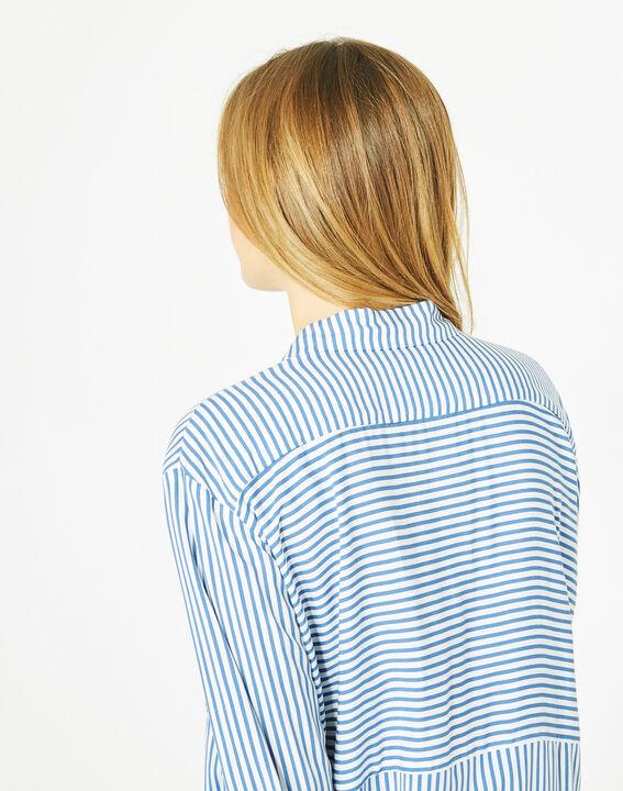 Chemise à rayures bleues Darwin (5) - 1-2-3