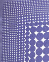 Anae geometric blue silk square scarf (1) - 1-2-3