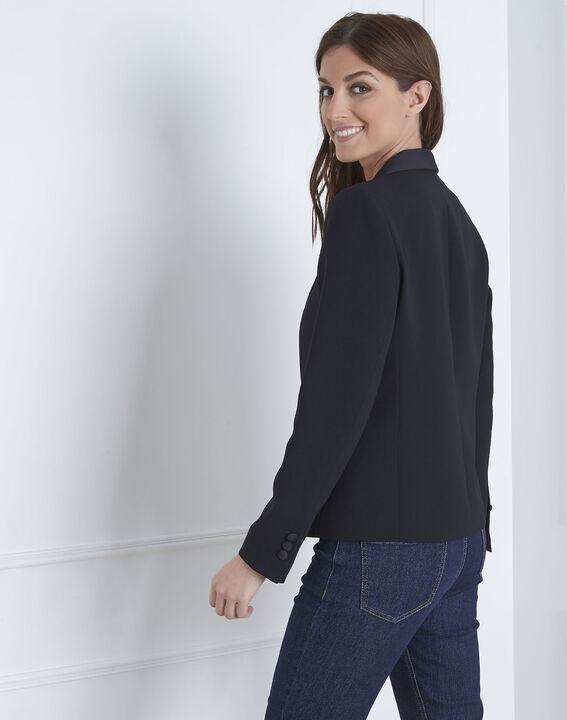 Veste noire tailleur Sabrina (4) - 1-2-3