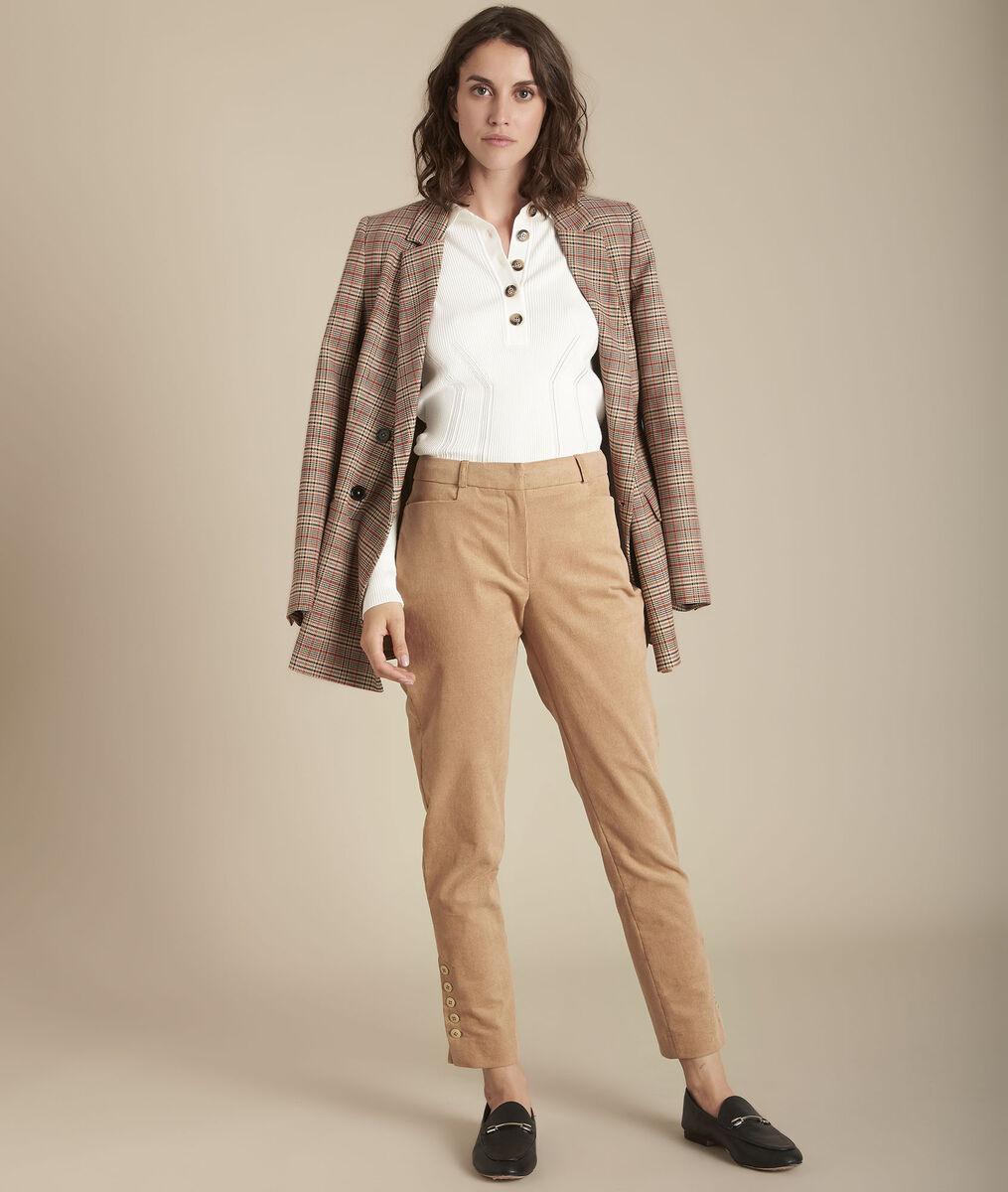 Pantalon droit en velours Eagle PhotoZ | 1-2-3