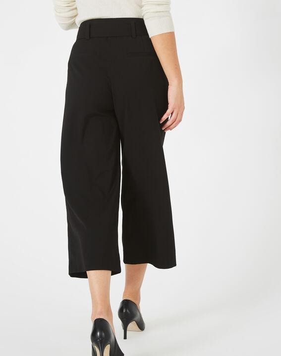 Pantalon noir cropped Kris (4) - 1-2-3