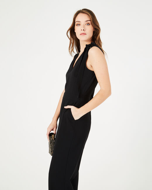 Great black playsuit with eyelets (2) - 1-2-3