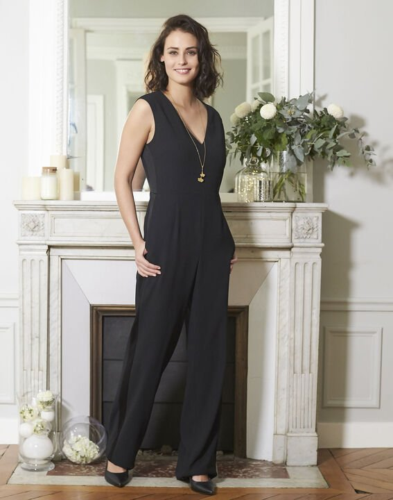 Dorine Black Jumpsuit PhotoZ | 1-2-3