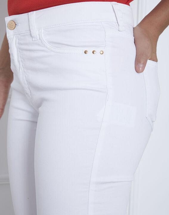Jean blanc slim Vendome (4) - Maison 123